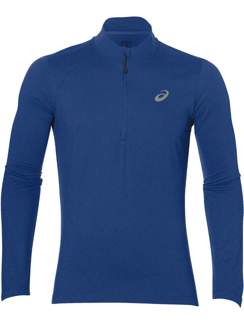 asics LS 1/2 Zip Jersey Men directoire blue heather